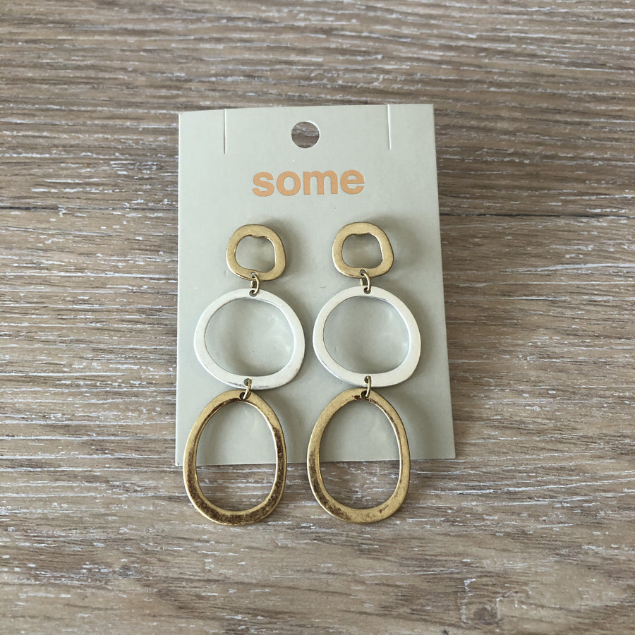 Triple Duo Hoop Earrings