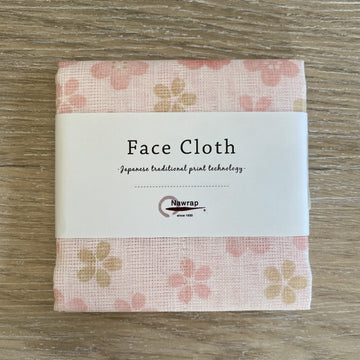 Floral Face Cloth - Pink