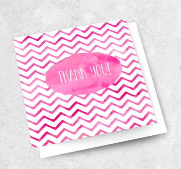 Ink Bomb Card - Thank You | Shelf Home and Gifts