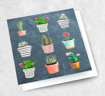 Ink Bomb Card - Cactus | shelf home and gifts