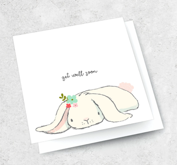 Ink Bomb Card - Get Well Soon | Shelf Home and Gifts