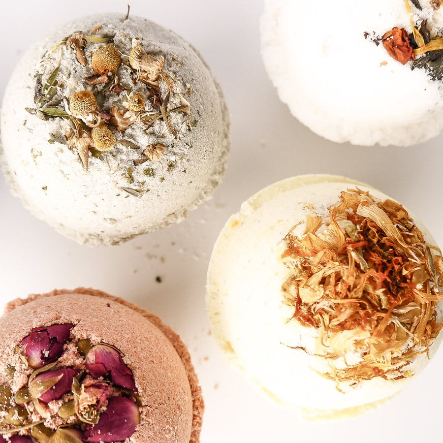 Botanical Bath Bomb - Orange Blossom and Calendula