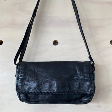Leather Bag Georgia Black