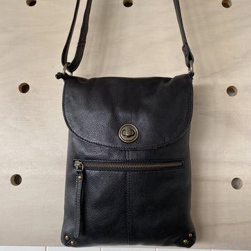 Leather Bag - Tayla Black rh8800