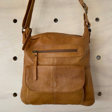 Leather Bag - Carolina Tan
