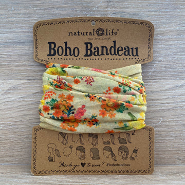 Bandeau - Sage Watercolour Floral