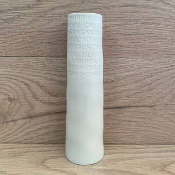 Vase - Narrow Embossed Rader