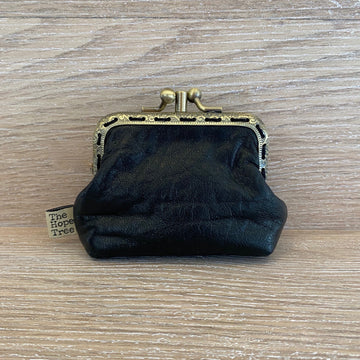 Hope Tree Coin Purse Black