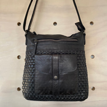 Leather Bag - Willow Black