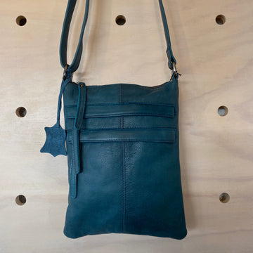 Leather Bag Wendy - Midnight Blue