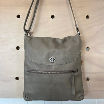 leather bag bianca rugged hide clay