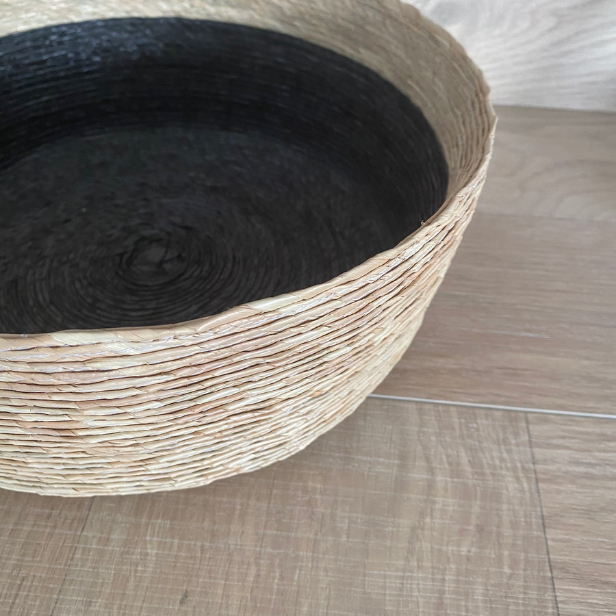 Natural Basket with Black Insert Citta