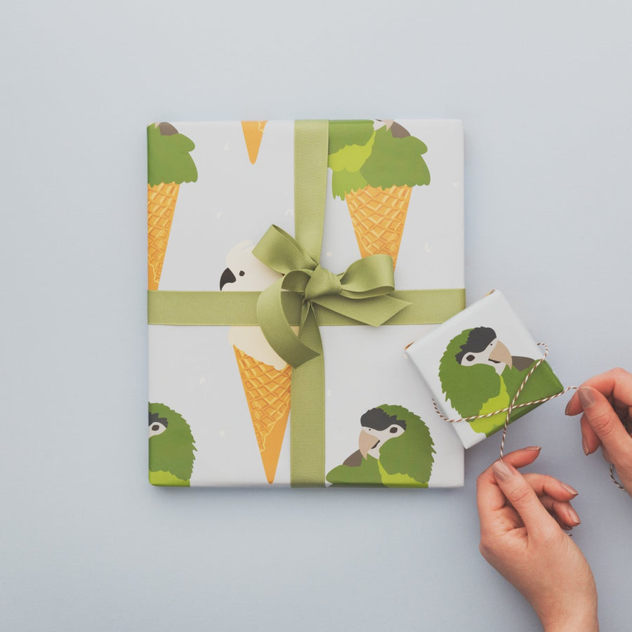 Wrapping Paper Book - NZ Nature Edition | Shelf Home and gifts