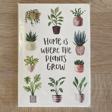 Home Is Where The Plants Grow - Notebook