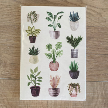 Inkbomb Assorted Plants - Notebook | Shelf Home