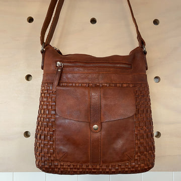 Leather Bag - Willow Tan COGNAC