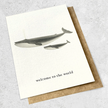 Ink Bomb Card Large - Welcome to the World | shelf home and gifts