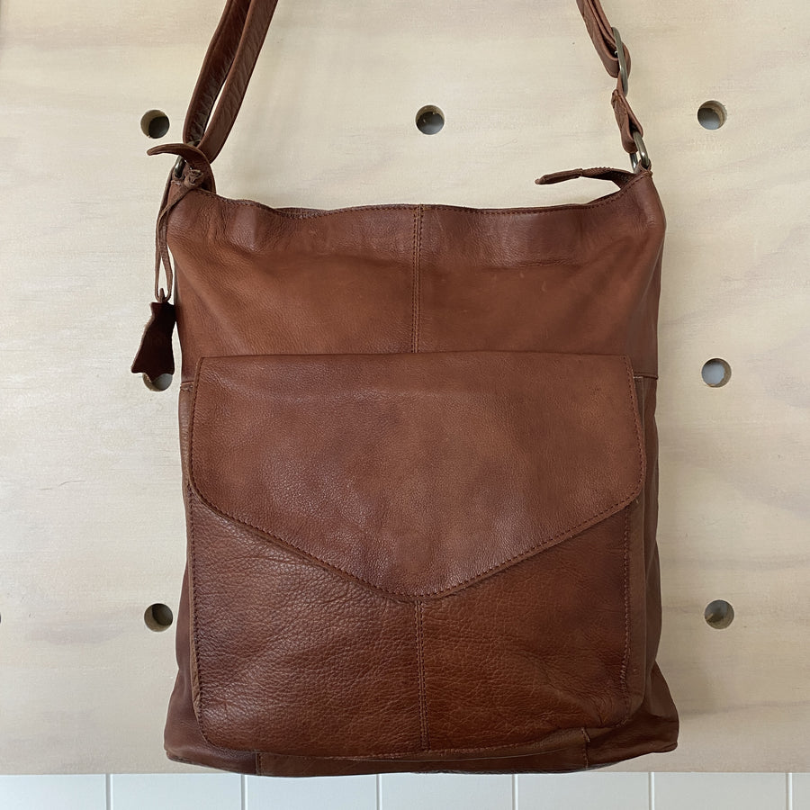 Leather Bag - Emily Brown