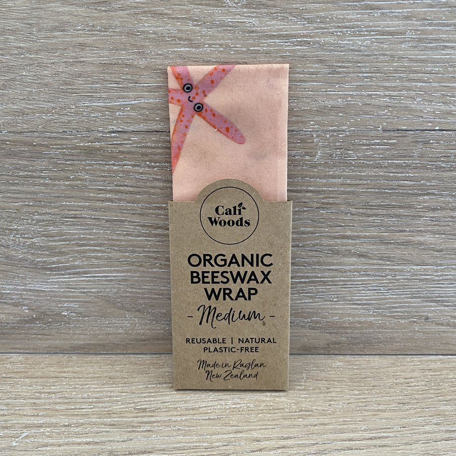 Organic Beeswax Wrap - Medium