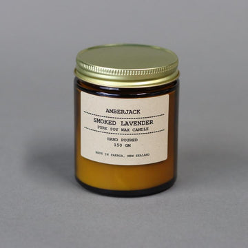 Amberjack Candle - Smoked Lavender | shelf home and gifts