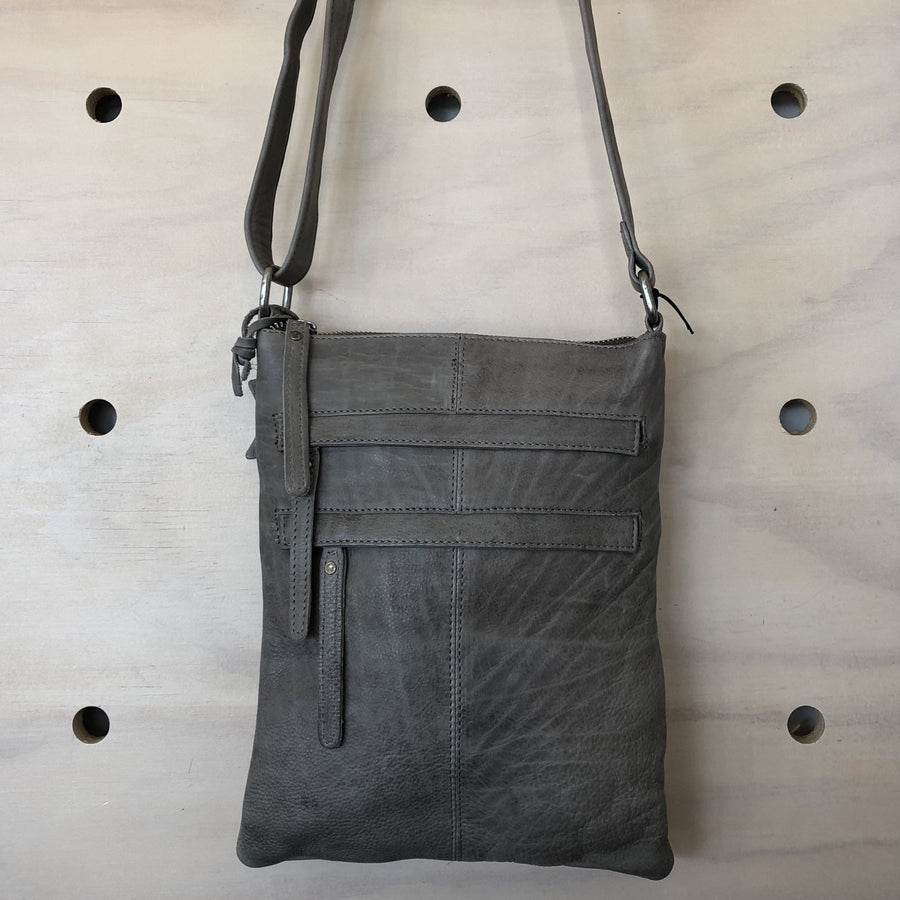 Leather Bag - Wendy Dark Grey | Shelf Home and Gifts