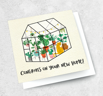Ink Bomb Card - New Home | Shelf Home and Gifts