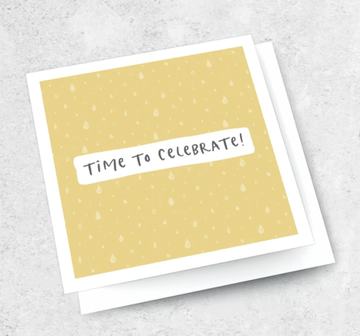 Ink Bomb Card - Celebrate | Shelf Home and Gifts
