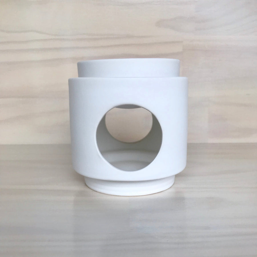 Ceramic Burner - White Kandle Co
