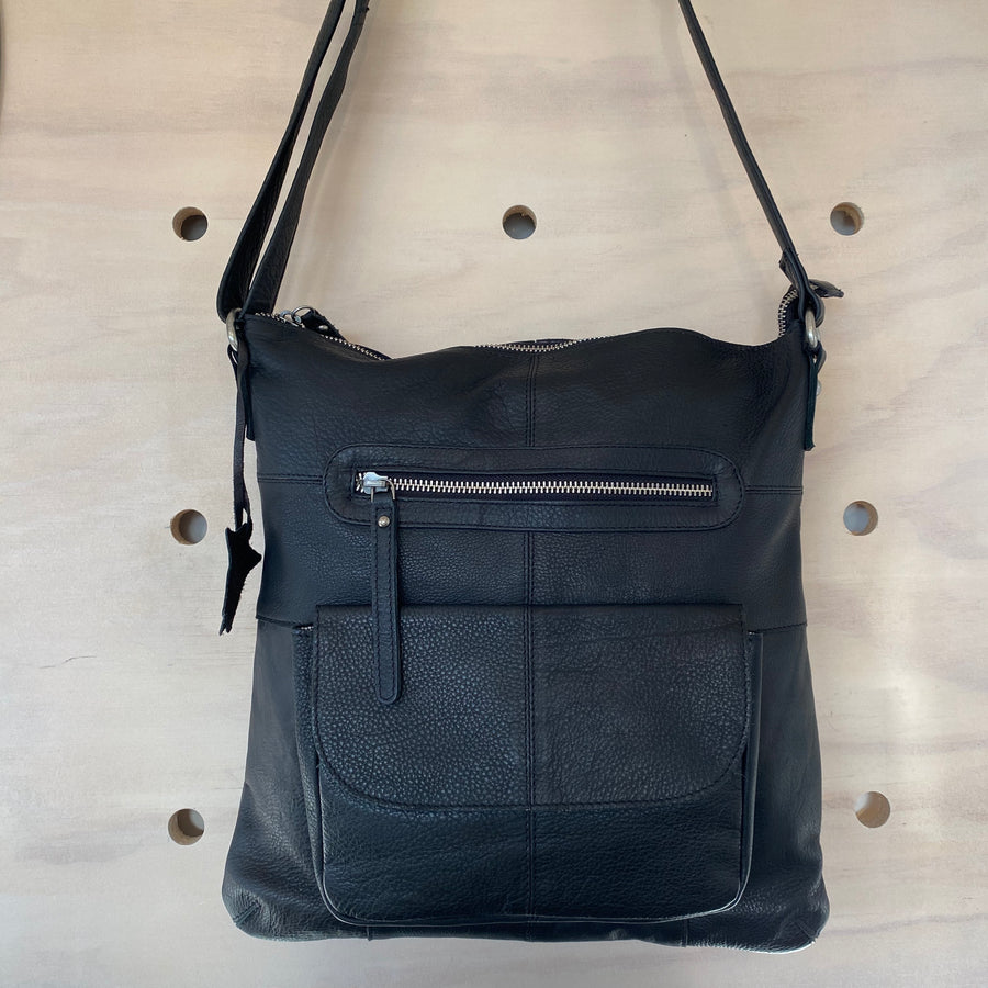 carolina black bag rugged hide