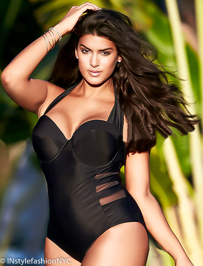 71bb8dd9375db Shop Women s Plus Size Swimwear at INstyle fashion NYC