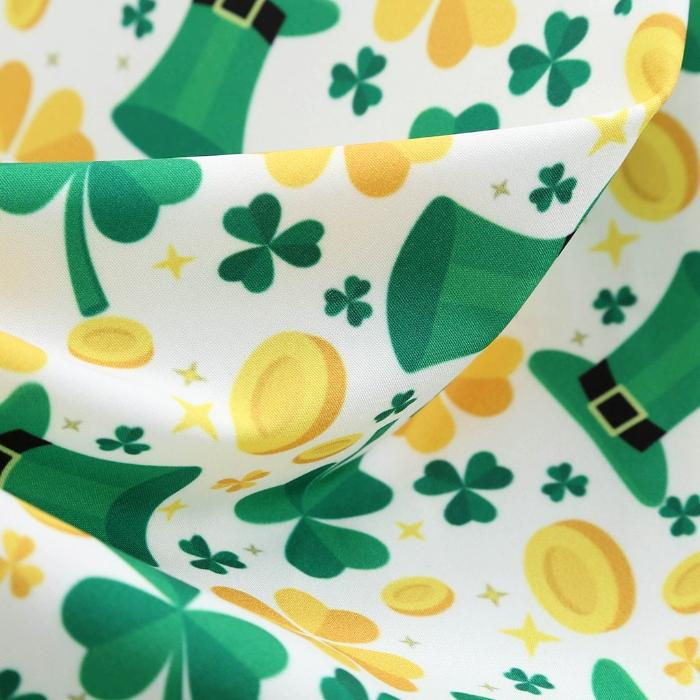 Women's Green St Patrick's Day 50s Vintage Dress, INstyle fashion