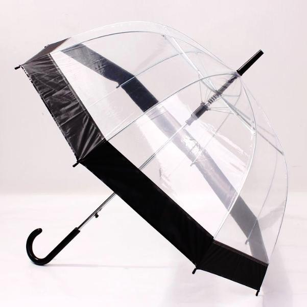 INstyle Novelty Clear Bubble Umbrella With Thick Border