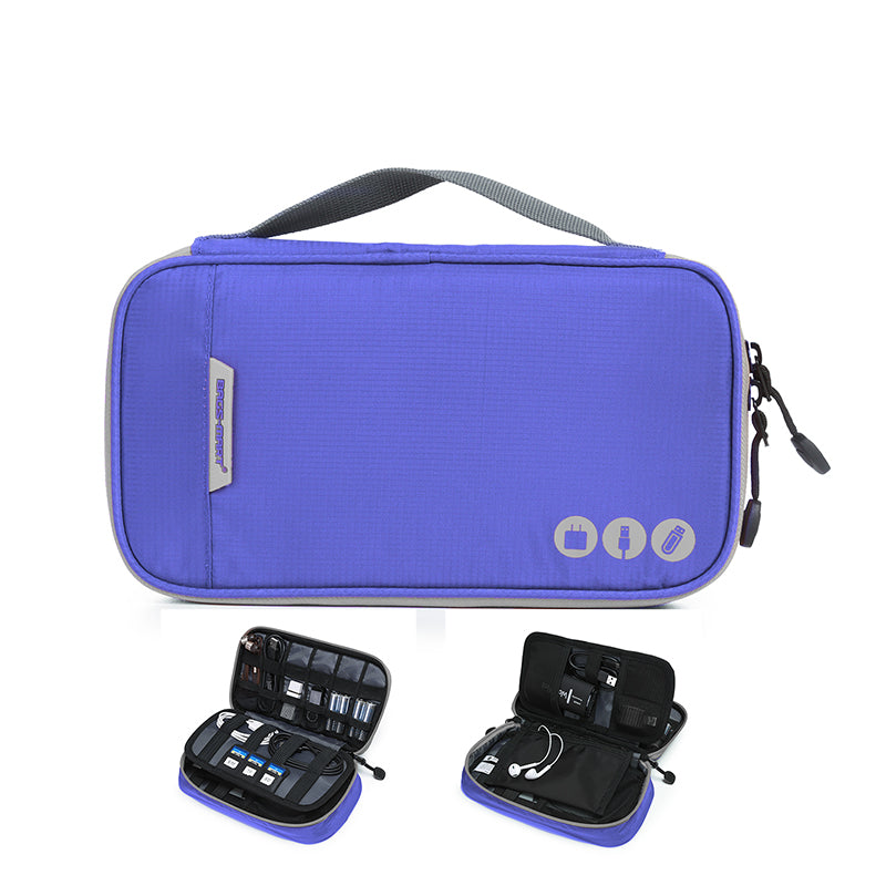 BAGSMART Travel Accessories Electronic Portable Bags For Phone, Data Cables, SD Cards, USB's, Chargers, Cables, Earphones and More.