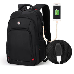 Backpack for 15.6 inch Laptop, USB Port, Waterproof.