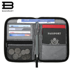 BAGSMART -  Mutifunction RFID Travel Passport Bag, ID and Credit Card Holder Zipper Case