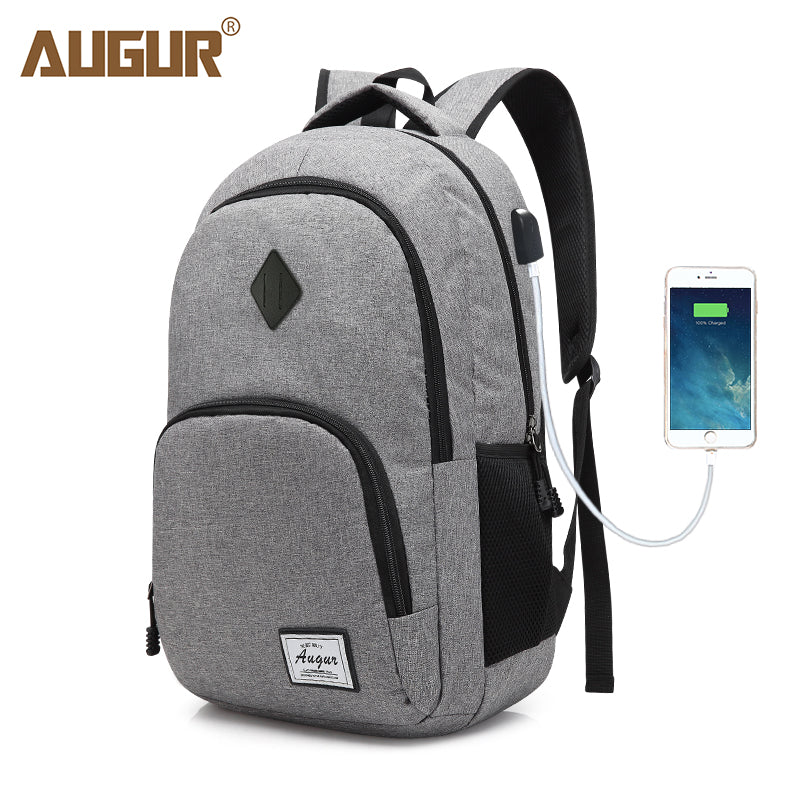 Casual Backpack USB Charging