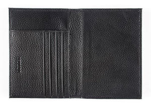 Vintage Crazy Horse Genuine Leather RFID Passport & Credit Card Holder