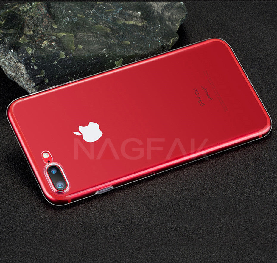 Ultra Thin Transparent Soft TPU Case For Multiple iPhone Models