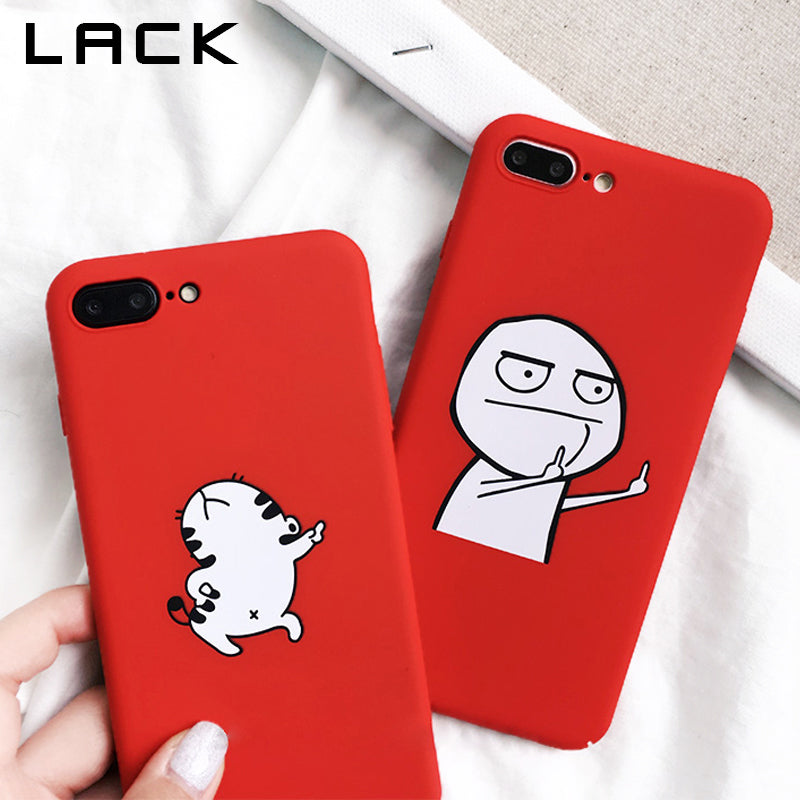 Cartoon Phone Case For Various iPhone Models.