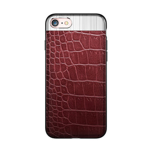 Luxury Leather & Metal Phone Cases For Multiple iPhone Models.