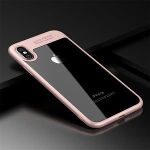 Full Protective Clear Slim Back Cover for Multiple iPhone Variants