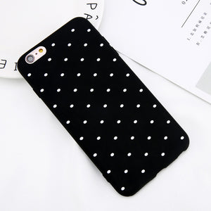 Polka Dots Phone Case For Multiple iPhone Models