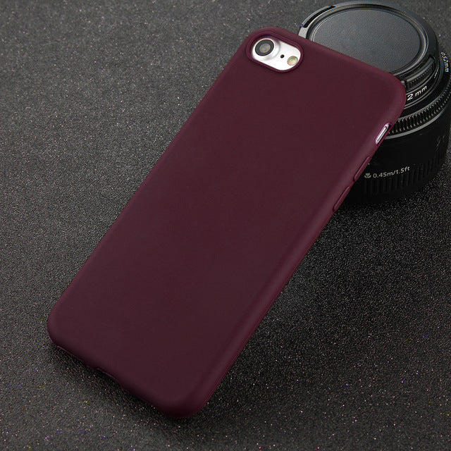 Soft Ultrathin Phone Case For Multiple iPhone Models. Wide Choice of Vibrant Colours.