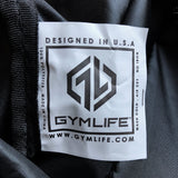 GYM LIFE™ - Stealth - Athletic Mesh Bag, Day Pack w/ Thick Drawstring Cords, Zip Pocket NEW