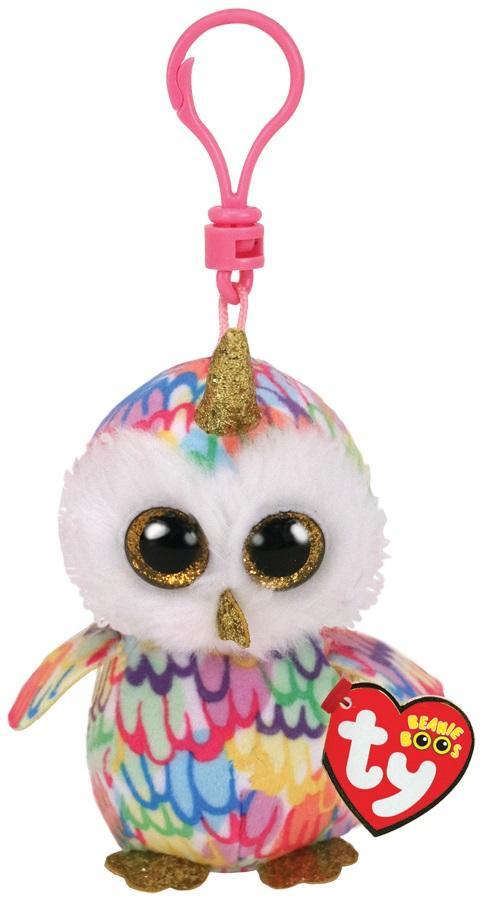 BEANIE BOOS CLIPS ENCHANTED - OWL W/ HORN