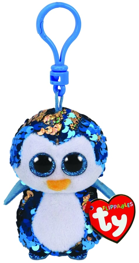 FLIPPABLES CLIPS PAYTON - BLUE PENGUIN