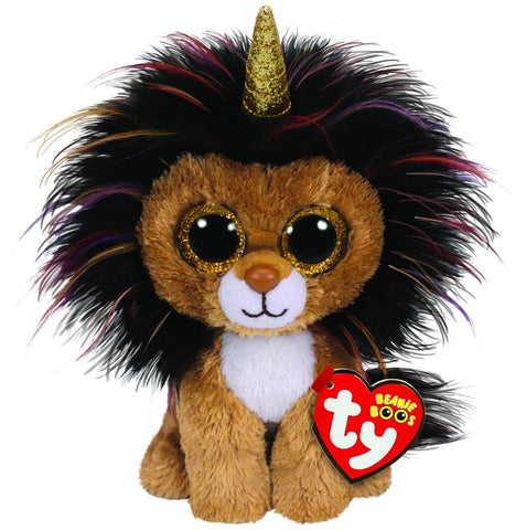 BEANIE BOOS REGULAR RAMSEY - LION WITH HORN