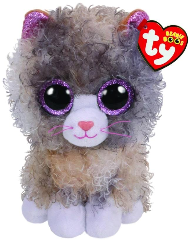 BEANIE BOOS REGULAR SCRAPPY - GREY CAT