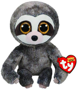 BEANIE BOOS MEDIUM DANGLER GREY SLOTH