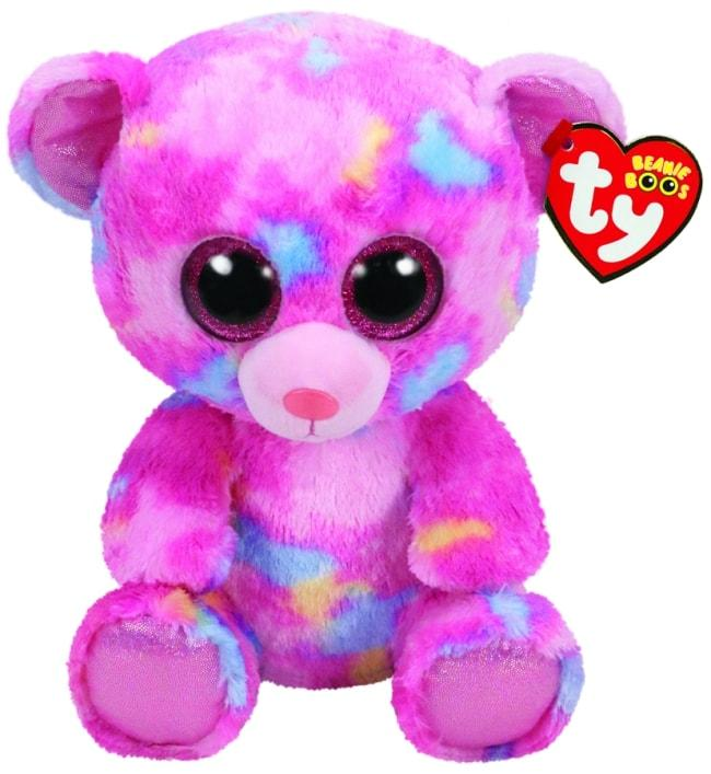 BEANIE BOOS MEDIUM FRANKY - MULTICOLOURED BEAR